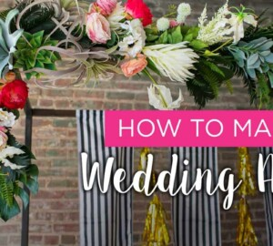 13 DIY Wedding Arches For the Perfect I Do Moment - WREATHS Wedding Arches, Wedding Arches, DIY Wedding Arches, A-FRAMES Wedding arches