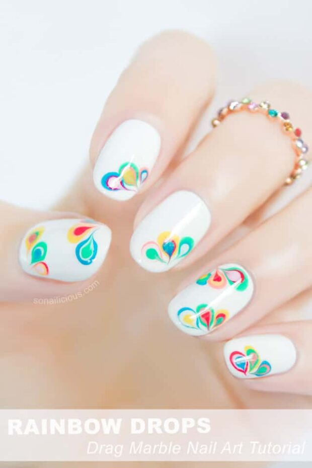 14 Cute Summer Nail Art Ideas and Tutorials - Summer Nail Art Ideas, summer nail art, neon summer nail art