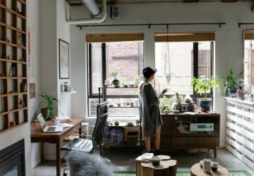 Embrace Remote Working with a Sustainable Home Office - Upcycle, turbine, stylsh, soalr panels, interior, Home office, decor, create