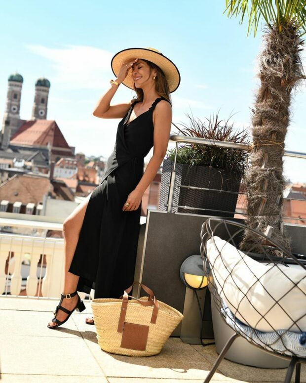 How to Wear Black in the Summer (Part 1) - How to Wear Black in The Summer, Black in the Summer