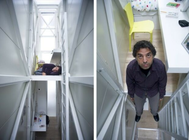 The 7 Unusual Home Designs You Never Imagined - unusual, Treehouse, The Pyramid House, The Keret House, The Flintstone House, Porcelain House, home designs, Drina River House, Cylindrical House
