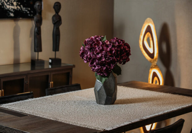 10 Alluring Ways of Decorating The Side Tables of Your Living Room - vase, side table, ornamental jars, Living room, home decor, decorating tips, decorating ideas, books