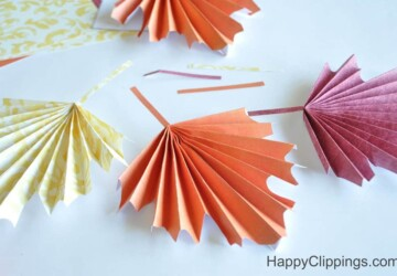 Beautiful DIY Paper Decoration Ideas For Fall - Diy Paper Flower Ideas, DIY Paper Decoration Ideas For Fall, DIY Paper Decoration