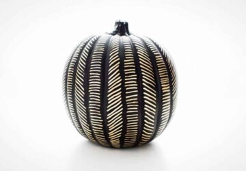 Easy No-Carve Pumpkin Decorating Ideas - Pumpkin Decorating Ideas, No-Carve Pumpkin Decorating Ideas, DIY Pumpkin Decorating Ideas