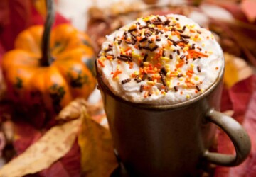 13 Cozy Fall-Inspired Coffee Recipes - fall drink recipes, fall Coffee Recipes, coffee recipes