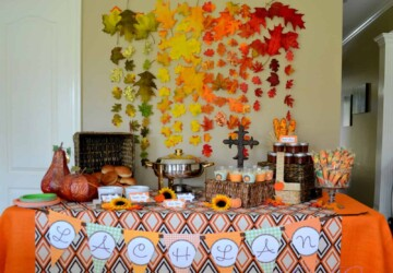 Cute Fall Baby Shower Ideas To Inspire You - fall decor, Fall Baby Shower Ideas, Baby Shower Ideas