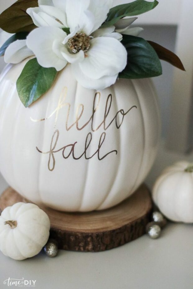 15 Easy DIY Home Decor Ideas for Fall - Part 1 - fall Crafts, DIY Home Decor Ideas for Fall, DIY Home Decor Ideas