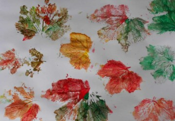 13 Easy Crafts To Make With Fall Leaves - Incorporate Fall Leaves Into Your Wedding Decor, Fall Leaves, Fall Decor Ideas, fall Crafts, Crafts To Make With Fall Leaves