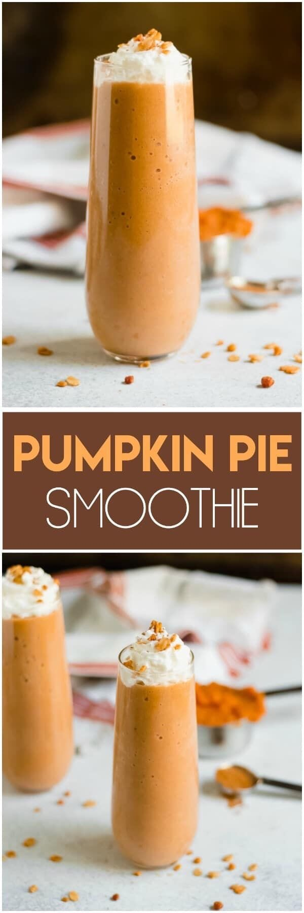 15 Delicious Smoothies To Make This Fall (Part 2) - Healthy Fall Smoothie Recipes, Healthy Fall Smoothie, fall Smoothie Recipes, fall Smoothie