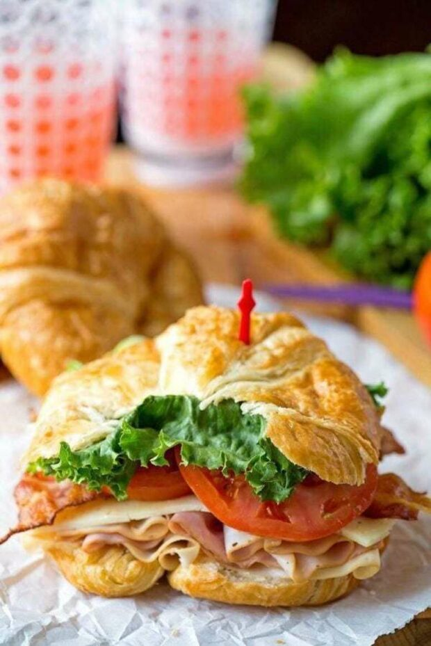 Best Croissant Sandwich Recipes (Part 2) - Sandwich Recipes, Croissant Sandwich Recipes, Croissant