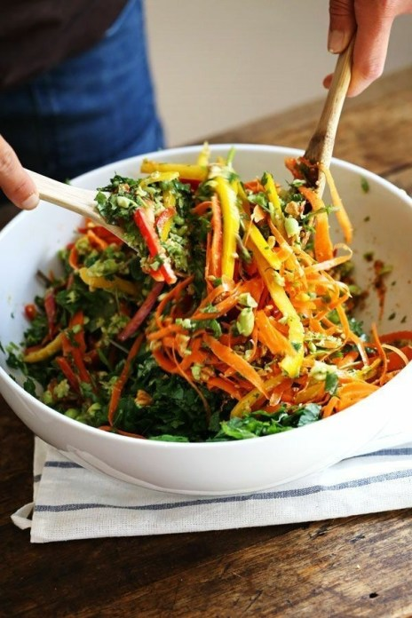 15 Best Power Salads for All-Day Energy (Part 1) - Power Salads for All-Day Energy, Power Salads, Healthy Vegetarian Salad Recipes, Fresh Fruit Salad