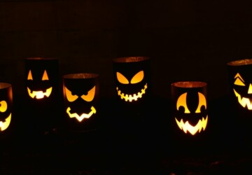 13 DIY Halloween Luminary Ideas - Halloween Luminary Ideas, DIY Halloween Luminary Ideas, DIY Halloween Luminary, diy Halloween
