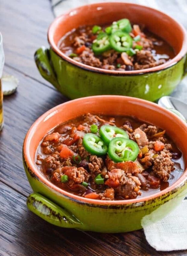 13 Easy Chili Recipes - How to Make Best Homemade Chili - Homemade Chili recipes, Homemade Chili, Chili recipes, Chili