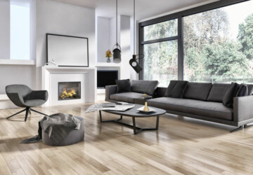4 Great Types of Flooring in 2020 - vinyl, tile, porcelain, laminate, home decor, hardwood, flooring, ceramic