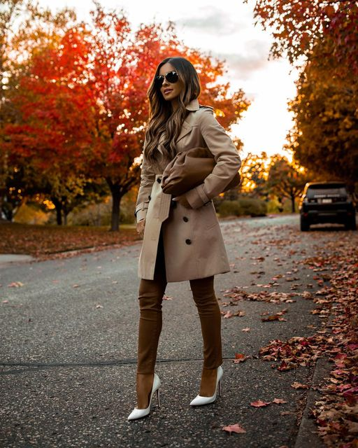 13 Fall Leather-Pants Outfits That Are So Chic (Part 2) - leather pants outfit ideas, Fall Leather-Pants Outfits