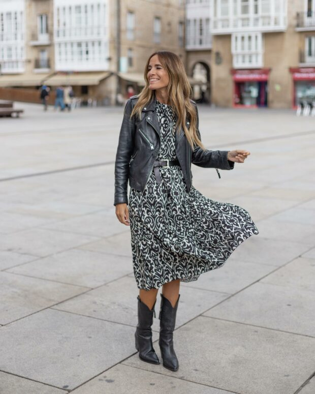 15 Fall Dress Outfits That Are So Chic - Fall Dress Outfits, fall dress outfit ideas, Fall Dress Outfit, Early-Fall Dress Outfit Ideas