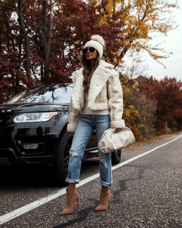 The Best Looks From October 2020:15 Outfit Ideas to Copy Now (Part 1) - October Outfit Ideas, October Fashion, fall outifit ideas, cozy fall outfit ideas, Best Looks From October 2020, Best Looks From October, Best Looks