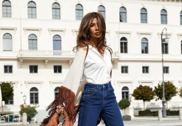 15 New Ways to Wear Your Jeans This Fall - jeans outfit ideas, jeans for fall, fall outfit ideas, fall jeans outfit ideas