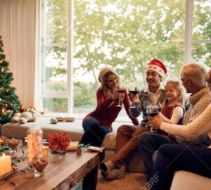 Incredibly Festive Family Event Ideas - interior design, festive, event, decor, Christmas