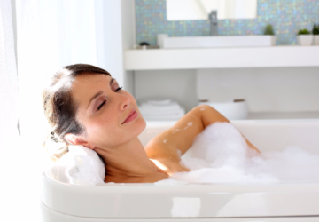 How Taking A Bath Can Improve Your Life And Health - taking a bath, sleep, improve, healthier heart, health