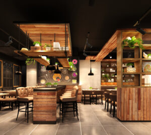 How To Design Restaurant And Cafes To Attract People - utilities, Restaurant, lighting, functional, design, comfortable, arrangement