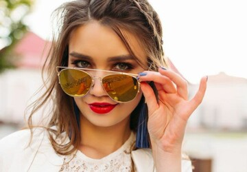 How To Choose The Best Sunglasses For Round Face Shape - Sunglasses, style, size, shape, round, fashioon, face
