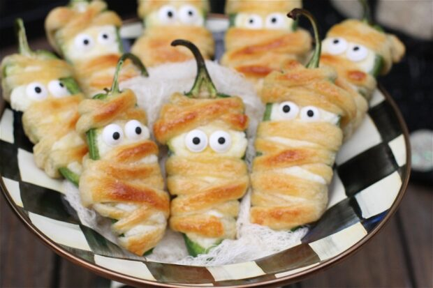 15 Halloween Appetizers for a Spooktacular Party (Part 1) - Halloween Appetizers, Halloween Appetizer, diy Halloween