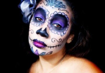 Best Halloween Makeup Tutorials and Ideas for 2020 - Halloween Makeup Tutorials, Halloween Makeup Ideas, Halloween Makeup