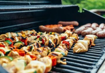 10 Healthy Fall Grilling Recipes You Have to Try - steak, scallion, salmon, recipes, Pumpkin, Grilling, grilled, cinnamon, Cauliflower, apples