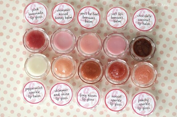 Top 13 DIY Homemade Lip Balms And How To Make Them - Lip Balms, DIY Lip Balms, DIY Homemade Lip Balms, diy cosmetics, diy beauty products