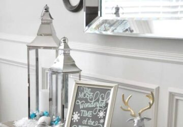 13 DIY Blue Christmas Decor Ideas to Display This Holiday Season - diy christmas decor, DIY Blue Christmas Decor, Blue Christmas Decor, blue