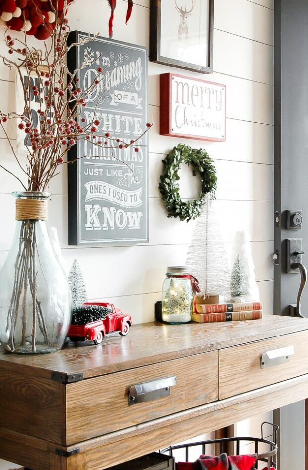 24 Christmas Decoration Ideas In All Shades Of Red - Rustic Christmas Decoration Ideas, red Christmas Decoration Ideas, DIY Christmas Decoration Ideas, christmas decoration ideas