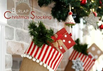 13 Creative DIY Christmas Stocking Ideas - DIY Christmas Stocking Ideas, Diy Christmas stocking