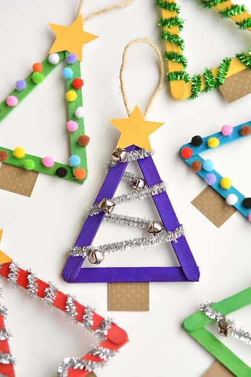 14 Christmas Crafts for Kids That You'll Love Making With Them - Christmas Crafts for Kids, Christmas Crafts, Christmas Craft and Food Ideas