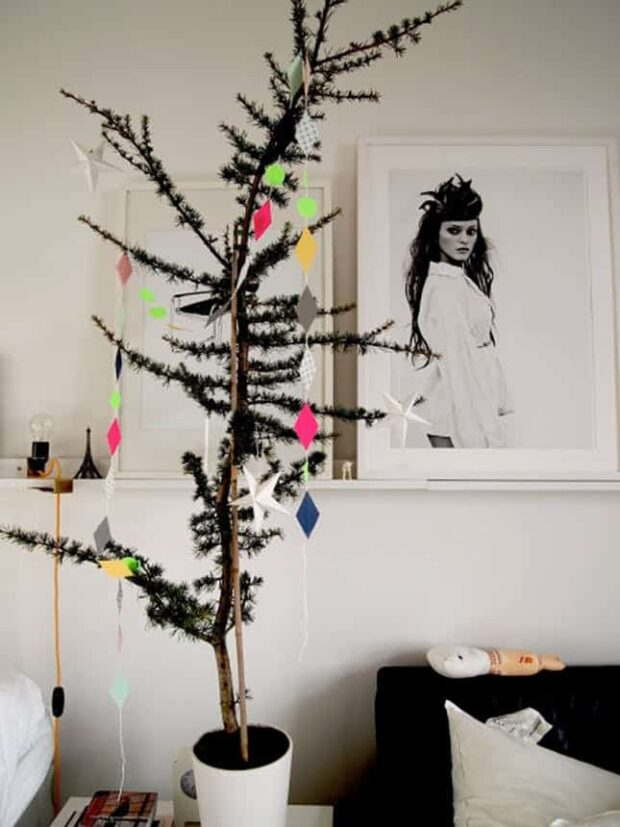 13 Non-Traditional Christmas Tree Ideas - Non-Traditional Christmas Tree Ideas, Non-Traditional Christmas Tree, Christmas Tree Ideas