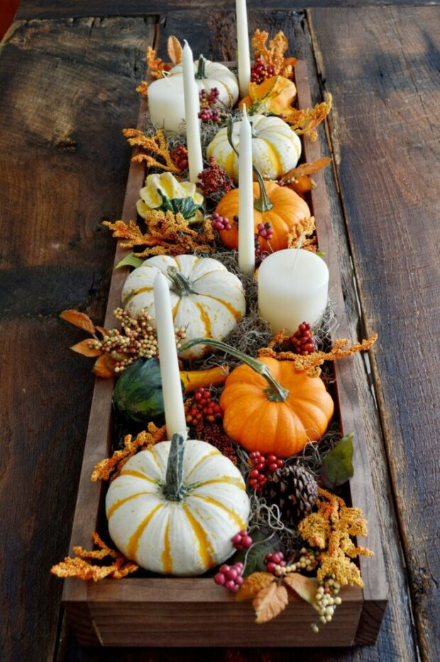 13 Festive Thanksgiving Table Ideas - Thanksgiving Table Ideas, Festive Thanksgiving Table Ideas, DIY Thanksgiving Decoration