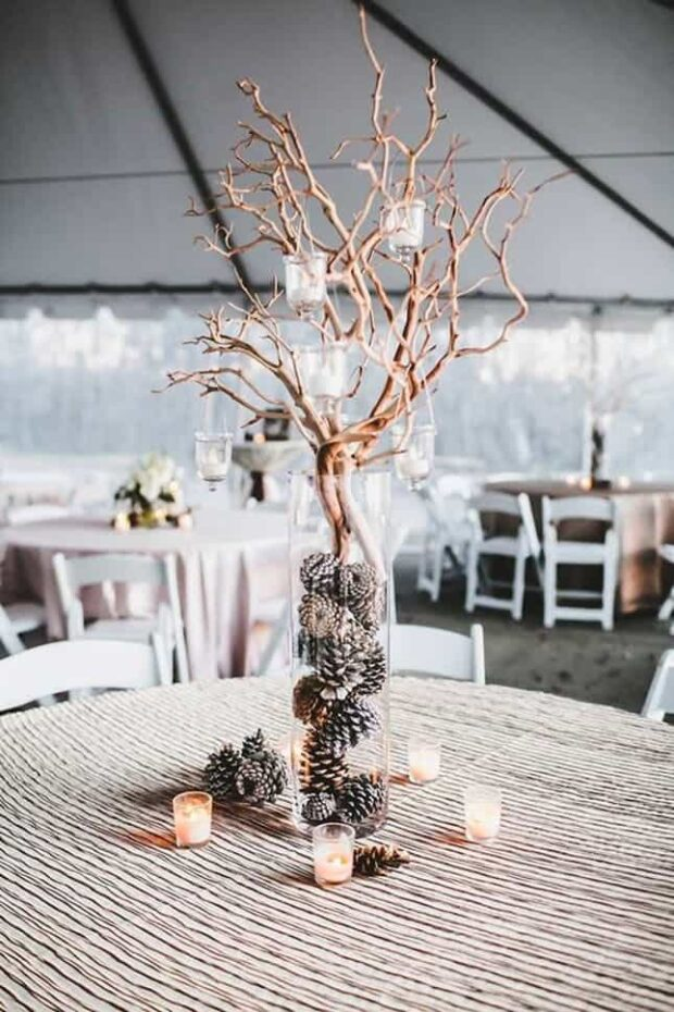 12 DIY  Christmas Wedding Ideas to Transform Your Big Day - DIY Christmas Wedding Ideas, Christmas Wedding Ideas, Christmas wedding