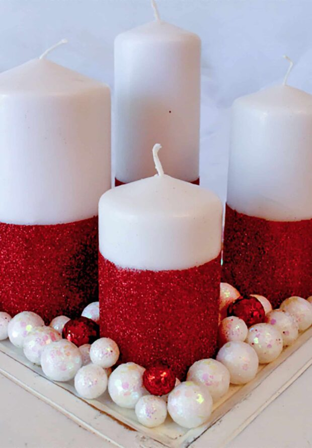 13 Easy DIY Christmas Decorations - diy Christmas decorations, DIY Christmas Centerpieces, Diy Christmas