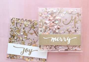 14 Best Handmade DIY Christmas Card - diy christmas cards, DIY Christmas Card Ideas, DIY Christmas Card