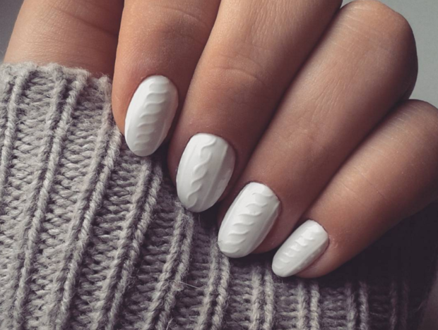 13 Gorgeous Winter Nail Designs to Brighten Up the Season (Part 2) - winter nail design, winter Nail Art Ideas, winter nail art, Winter Nail