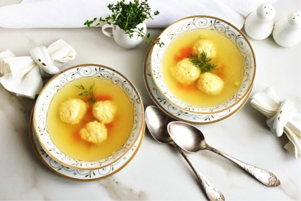 Top 10 Traditional Jewish Recipes - traditional, The Best Matzo Ball Soup, Sweet Noodle Kugel, recipes, Mini Potato Kugels, jewish, Hummus Masabacha, Herbed Goat Cheese and Apricot Babka, Hanukkah Jelly Donuts (Sufganiyot), Gefilte Fish, Flourless Walnut-Date Cake for Passover, Easy Challah Bread, Ashkenazi Haroset