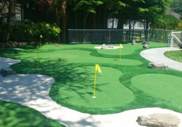 Why you should build a Backyard Golf Course - landscape, golf, backyard