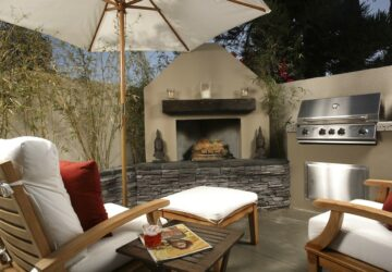How to Design an Outdoor Kitchen on a Budget - quick DIY, outdoor, kitchen, grill, diy