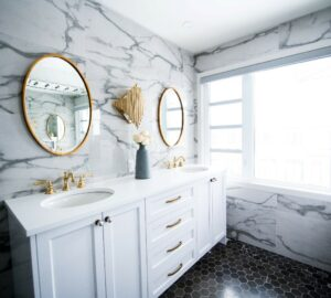 2021 Bathroom Trends that Add an Instant Wow Factor - interior design, bathroom ideas, bathroom, 3/4 Bathroom