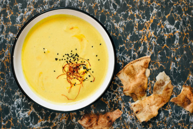Vegetable Cream Soup To Make As A Starter At Christmas