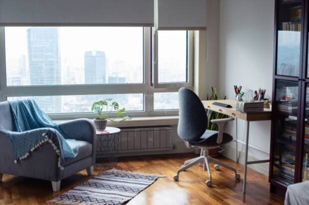 5 Home Office Decorating Tips - table, privacy, Home office, environment, decorating ideas, comfortable, comfort