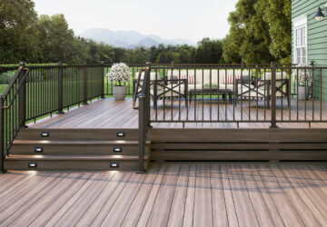 A Few Ideas for Deck Railing to Offer a Long-Lasting Appeal - wood-metal, stainless steel, railings, outdoor, grid metal, glass-filled, deck