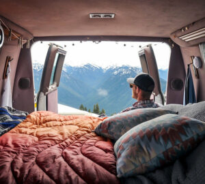 How To Make Money While Living The Van Life - Work, van life, seasonal work, make and sell crafts, camper