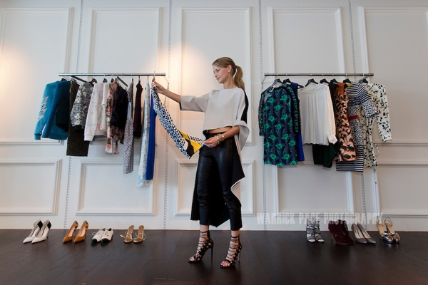 LONDON, UNITED KINGDOM – JULY 13: Holli Rogers, Head Buyer of online high-end fashion shopping network, Net a Porter, on July 18, 2013 in London, England. (Photo by Warrick Page)