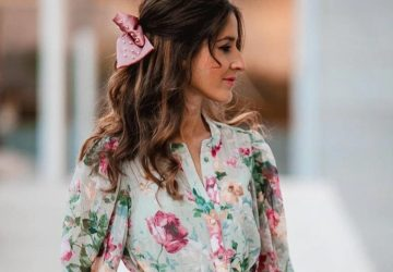 The Perfect Dress For Romantic Guests - style motivation, style, puffy sleeves, flowing floral dress, floral dress, fashion designs, fashion, Dresses